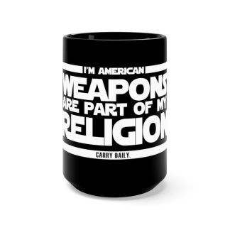 """Browse all """"Weapons Are Part of My Religion"""" Gear"""