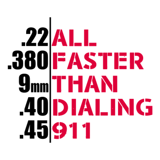 Browse all Faster Than Dialing 911 Gear
