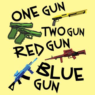 Browse All One Gun Two Gun Red Gun Blue Gun Gear